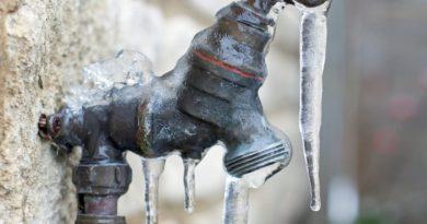 El Municipio brindó recomendaciones para evitar el congelamiento de cañerías durante el invierno