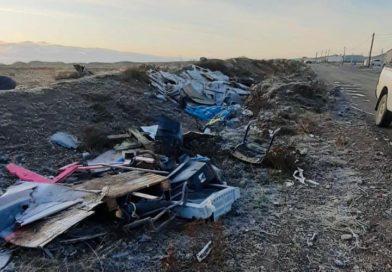 Río Grande: Se realizó un importante operativo de limpieza en el Barrio Esperanza