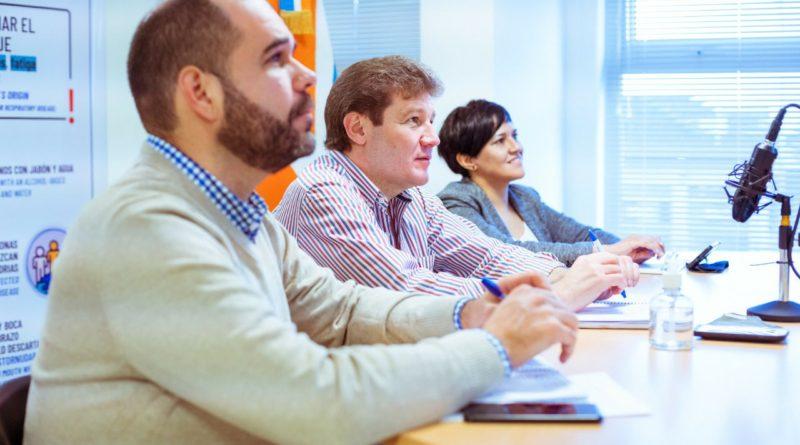 Melella mantuvo un encuentro por videoconferencia con la Embajadora de Francia en Argentina