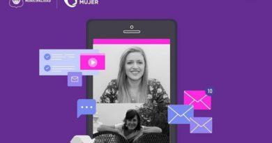 Noelia Trentino invita a participar de la charla virtual con Viviana Remy