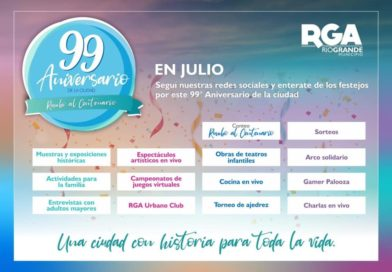Cronograma de Actividades Virtuales por el 99º Aniversario de la Ciudad de Río Grande